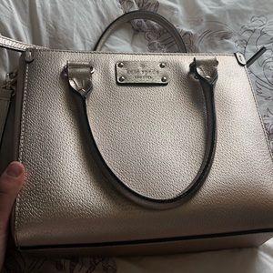 Rose gold Kate Spade Bag